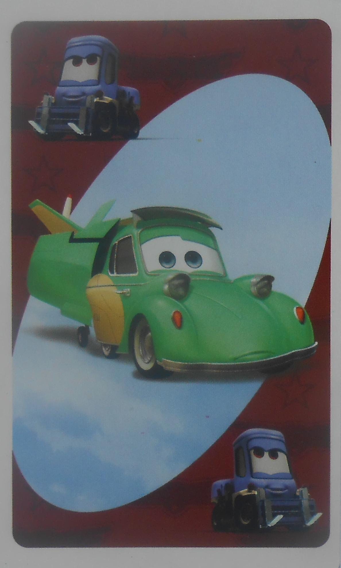 Planes Uno (Franz Card)