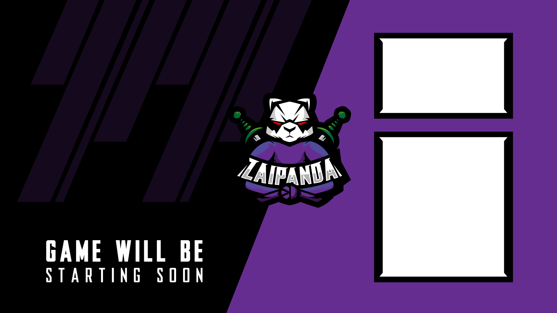 Zaipanda Twitch Channel Design