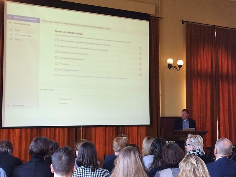 Keynote speaker Michel van Zandvoort