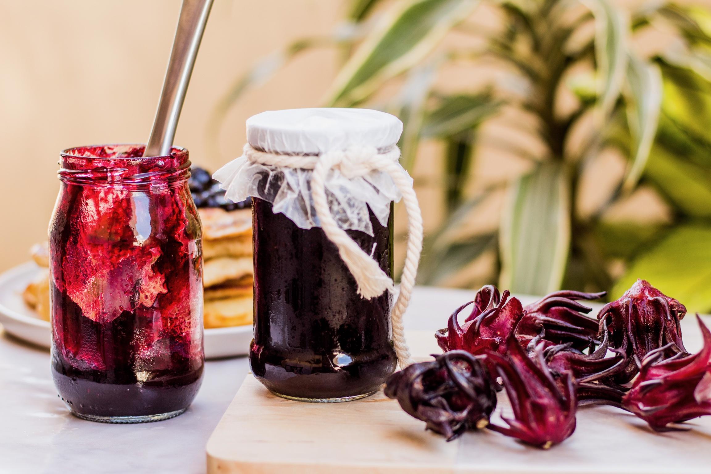 Sorrel jam — a gorgeous spread with a unique flavour