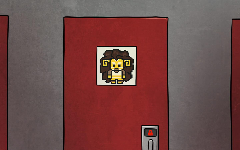Gugalanna's door.