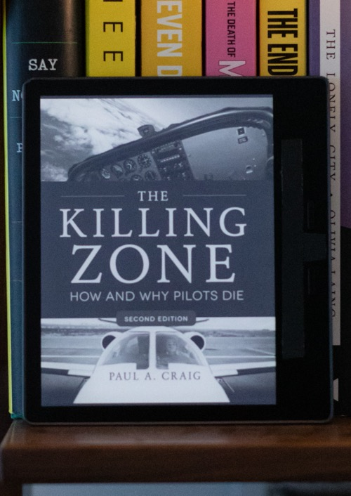 "Cover of ""The Killing Zone: How and Why Pilots Die"" by Paul A. Craig."