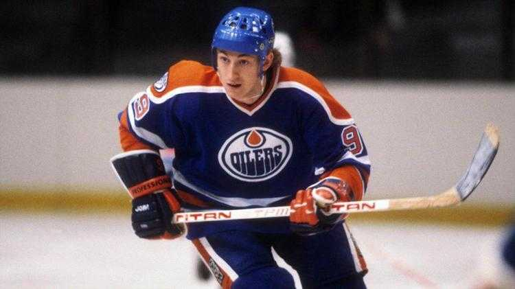 Wayne Gretzky in his element