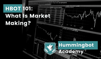 What is market making?