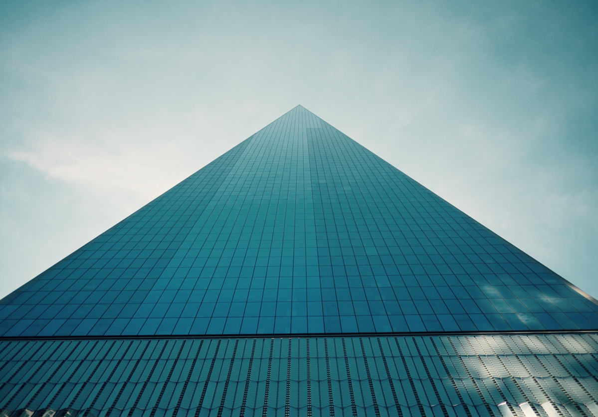 A picture of a skyscraper