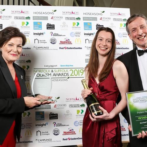 Potters wins Best Staff Training award