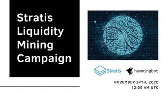 Launching Stratis liquidity mining campaign