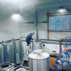 It's getting steamy in the brewery today...head on over for a friday pint at our taproom 😎🤩