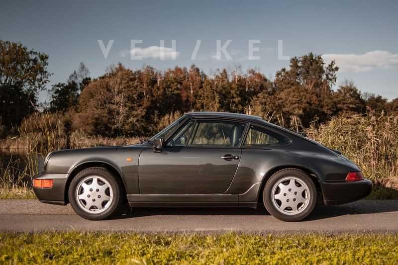 Porsche 911 964 3.6 Carrera 4 Coupé // Schiefergrau afbeelding 15