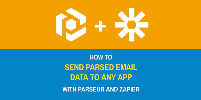 How to send emails to apps and databases using Zapier cover image