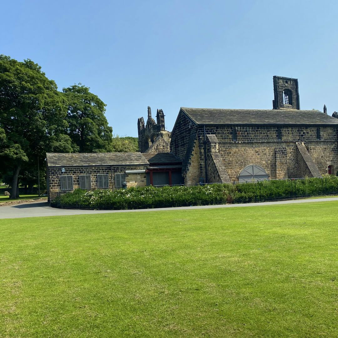 Kirkstall Abbey shop and toilets