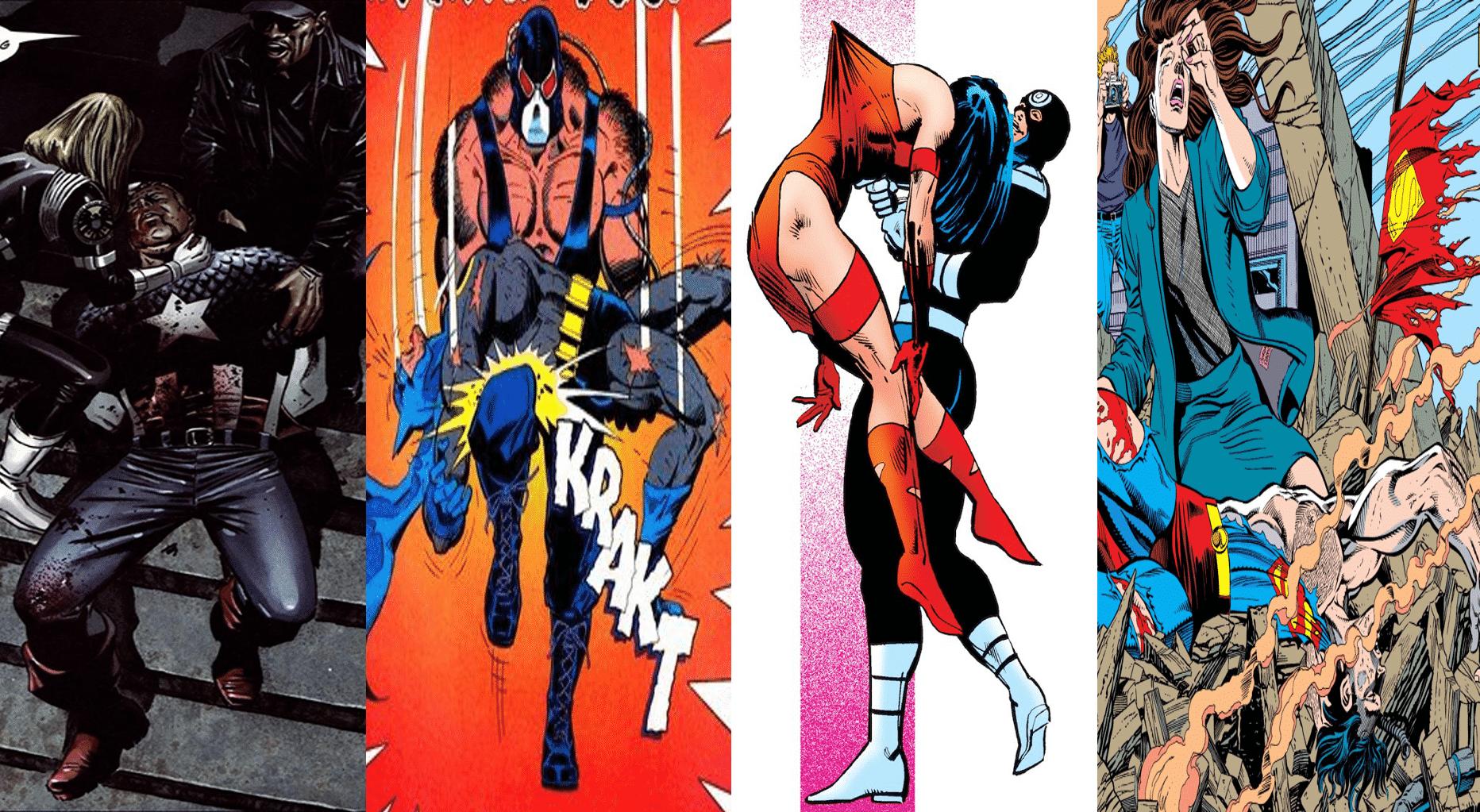 12 cenas iconicas que marcaram os quadrinhos