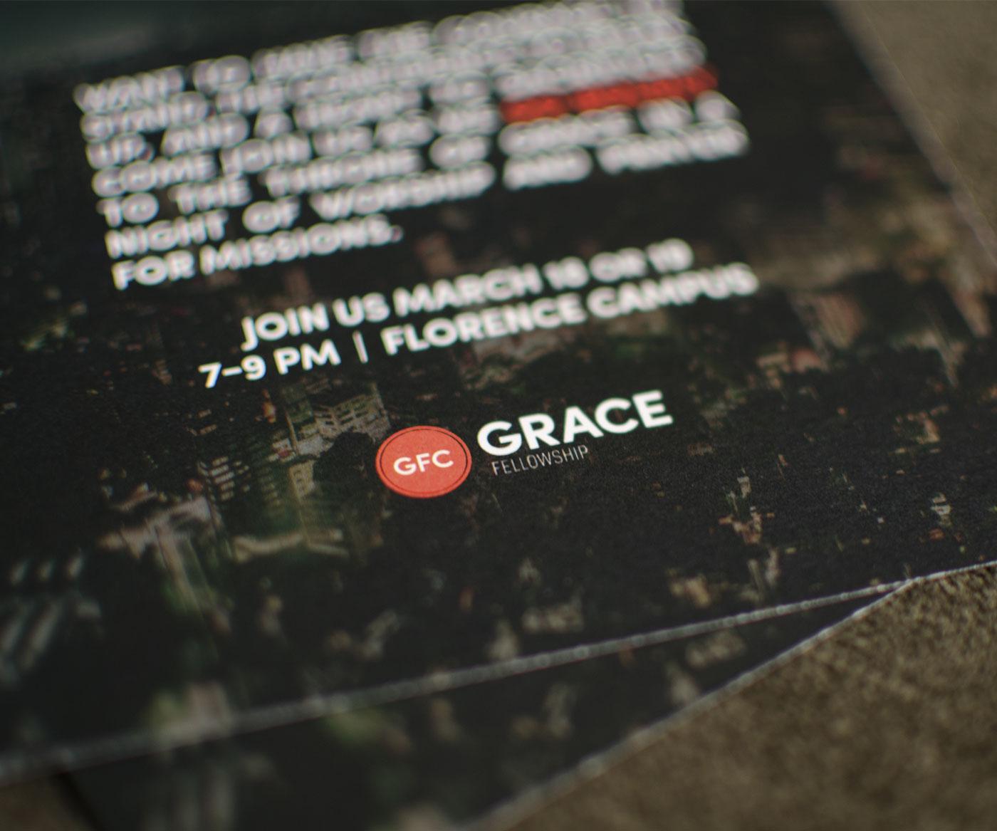 Grace Church Logo on Handouts
