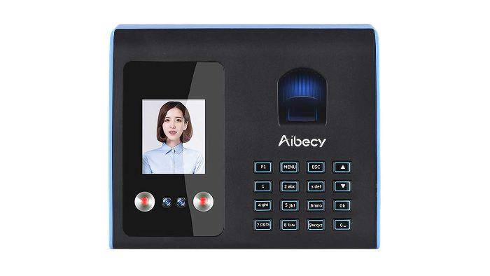 Face Fingerprint Time Clock
