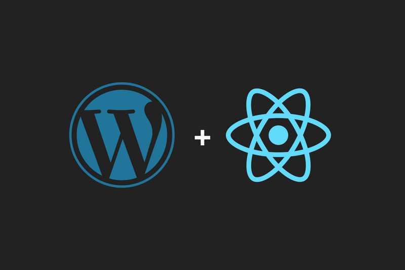 Using Wordpress with React js