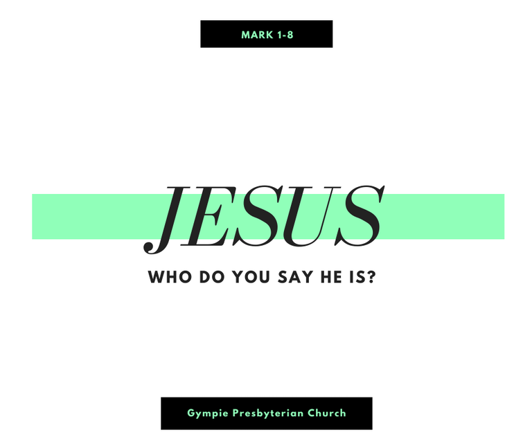 Jesus: Who Do You Say He Is?