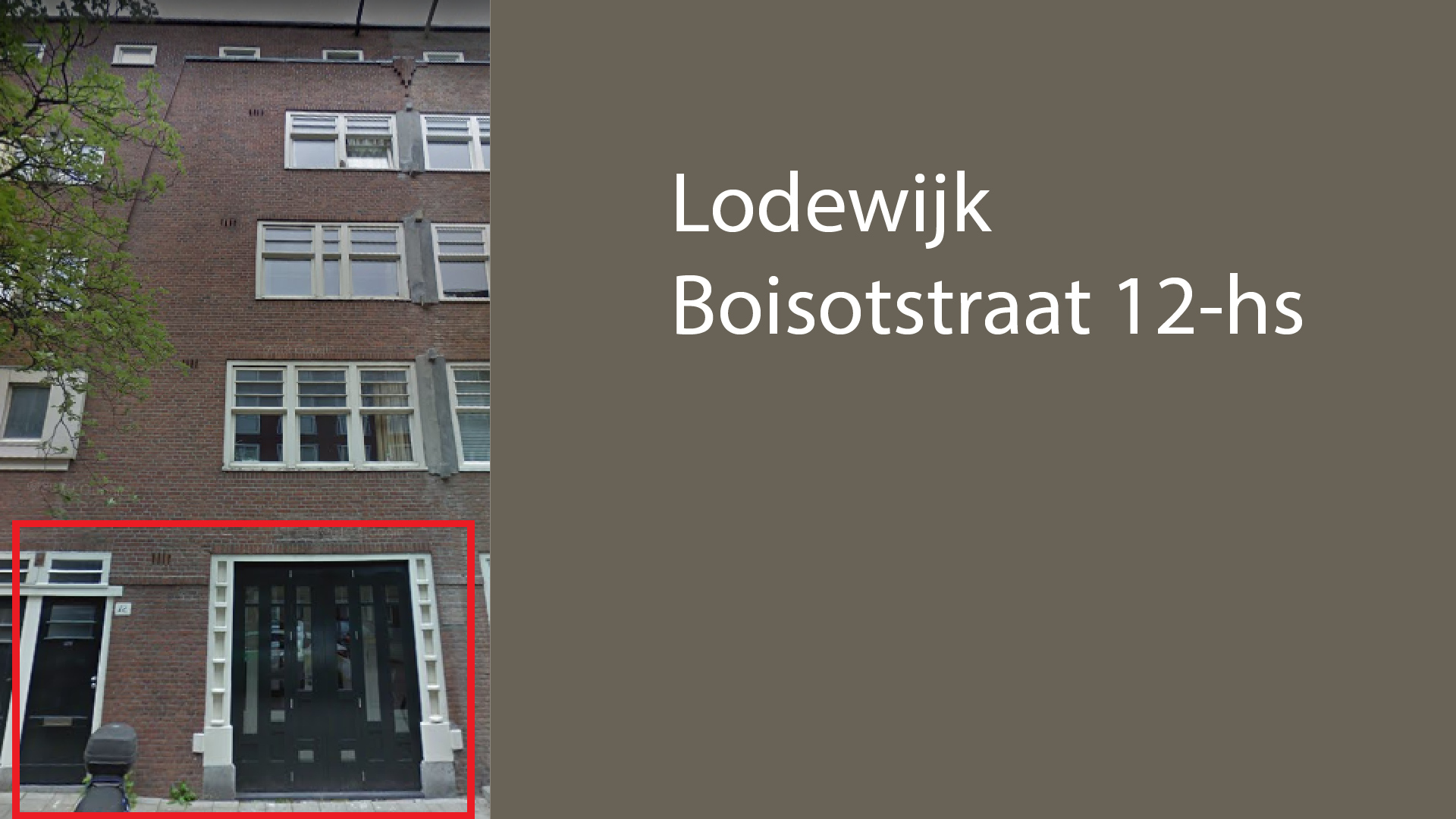 Lodewijk Boisotstraat 12-HS