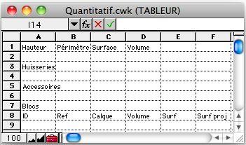 Mini quantifier