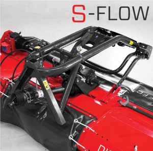 SIP – neuer S-FLOW Anbaubock stellt den innovativsten Aufbau in der Mähbalkenaufhängung