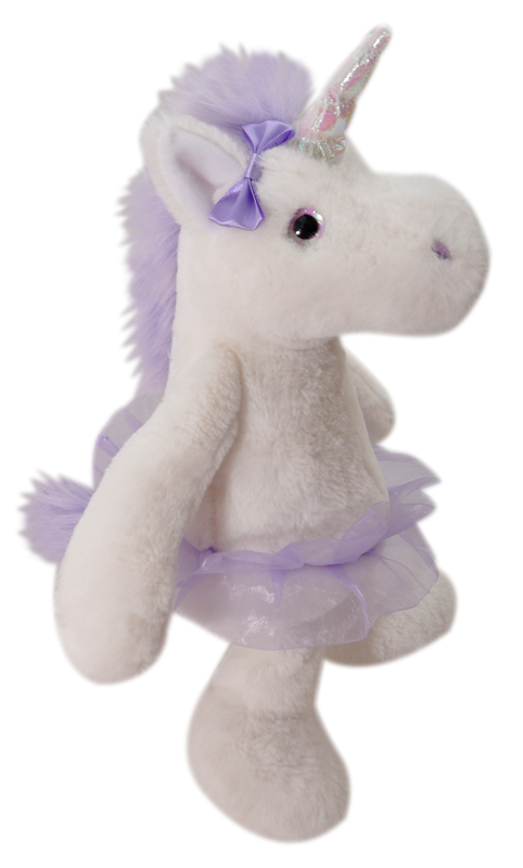 "The Petting Zoo: 16"" Unicorn with Tutu"