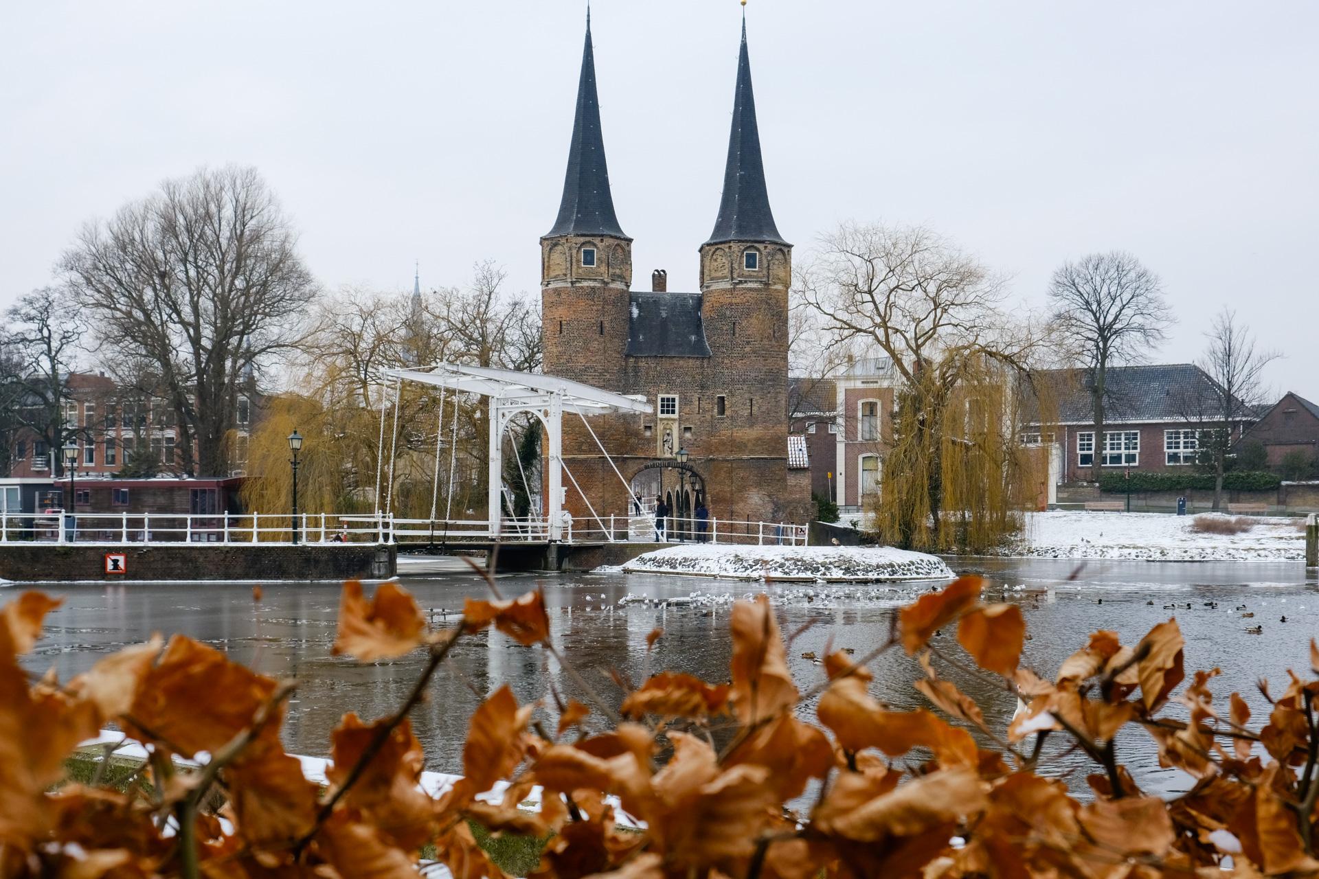 Canal near Oostpoort (Eastern Gate)