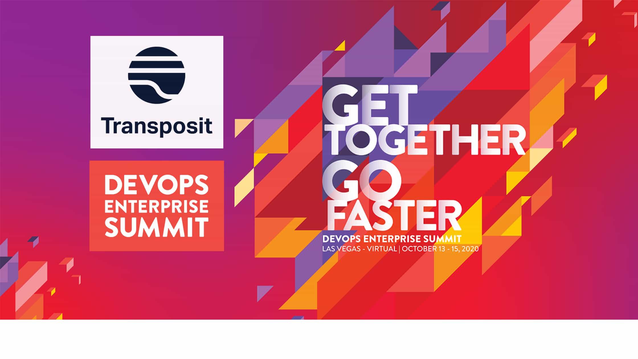 """Conference banner: """"Get together, Go faster"""""""
