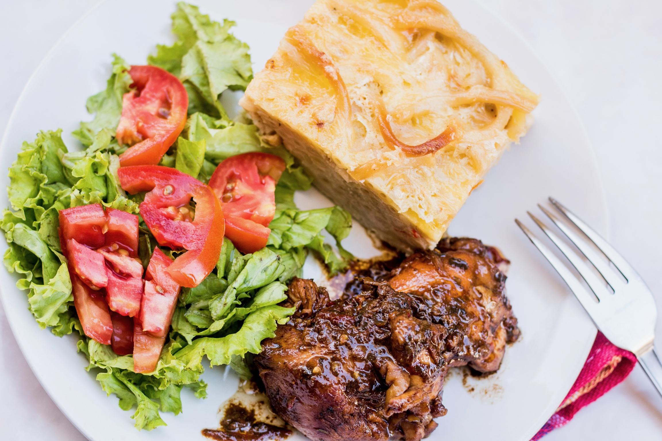 Classic Caribbean Sunday Lunch Staples