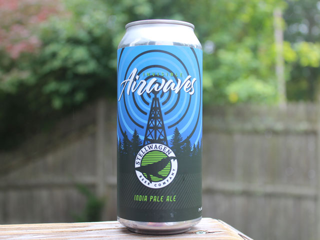 Invisible Airwaves, an IPA brewed by Stellwagen Beer Company