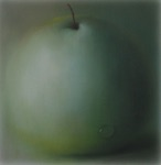 """Lauri Sillak, Estonia. """"Omena"""" 2003. Canvas, oil, 60x60cm"""