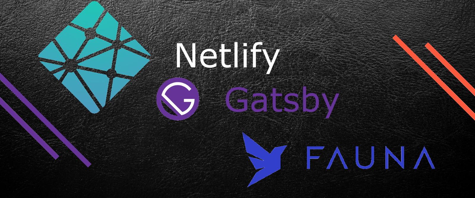 Gatsby CRUD Netlify Fauna