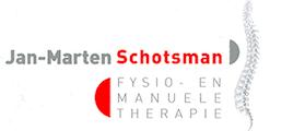 Jan Marten Schotsman: Fysio- en manuele therapie