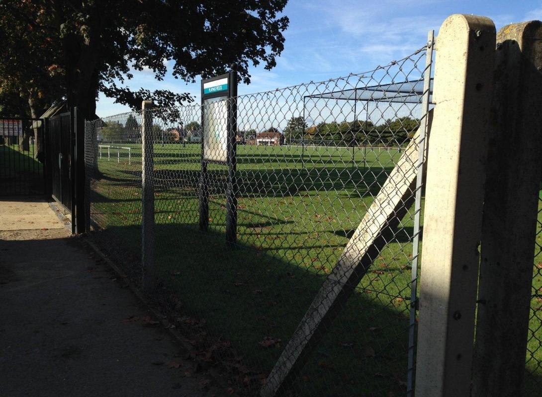 St Johns School Cobham fence
