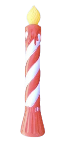 Striped Candle photo