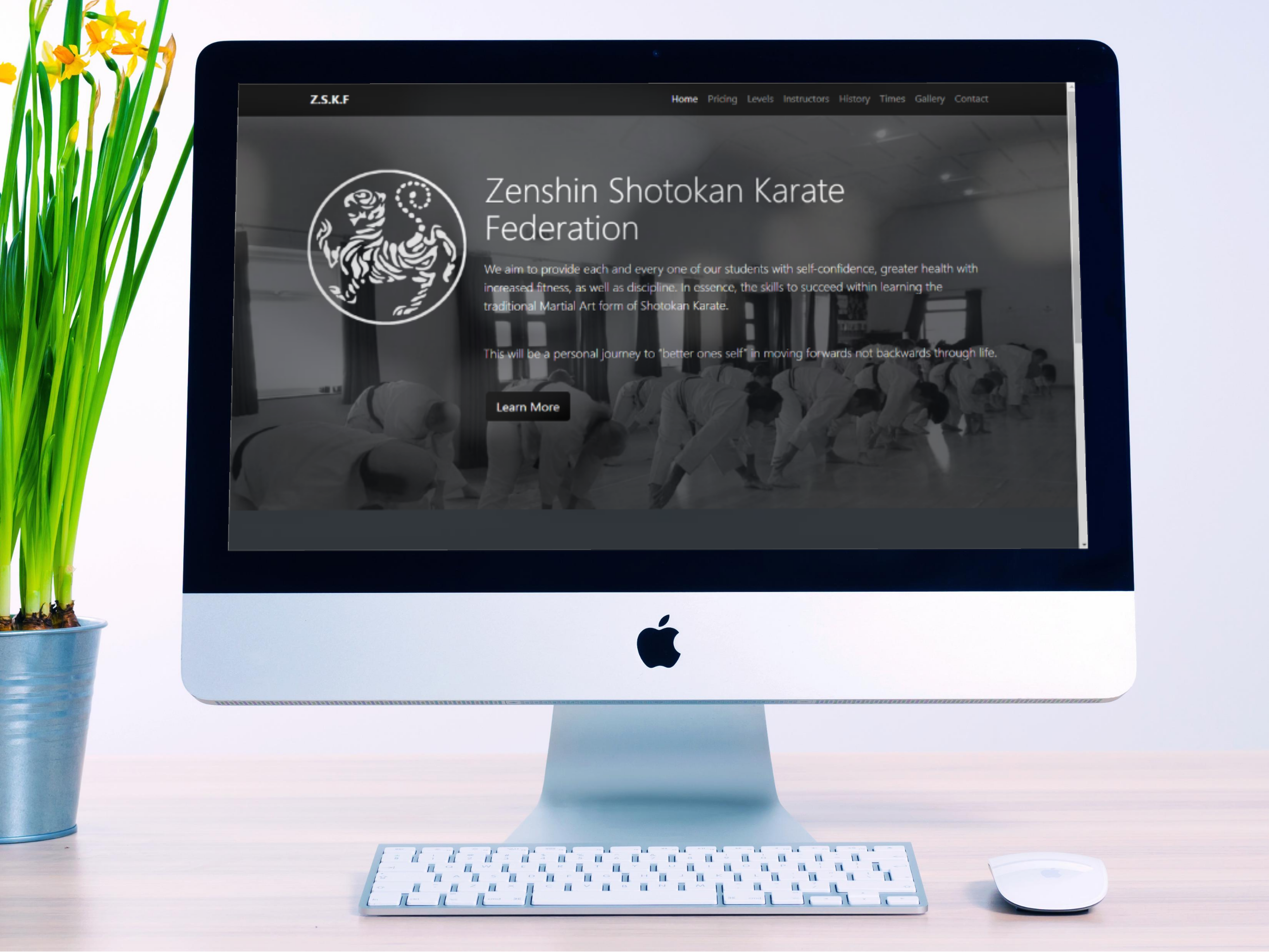 Zenshin Shotozan Karate Federation Website