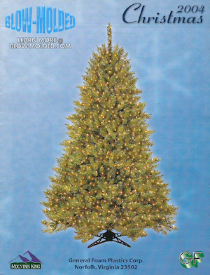 General Foam Plastics Christmas Trees 2004 Catalog.pdf preview