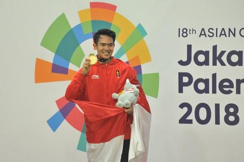 Indonesia Lampau Target Emas di Asian Games 2018