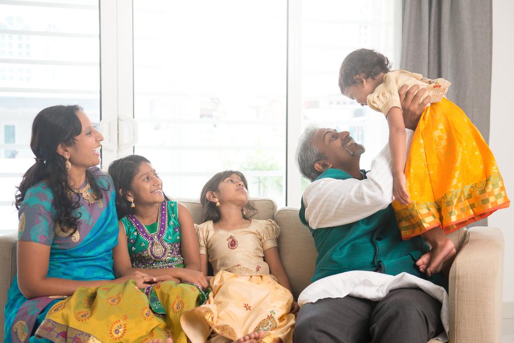 House visiting during Deepavali