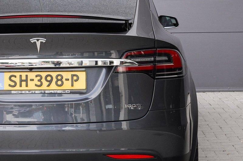 """Tesla Model X 100D Excl. BTW Luchtvering, Autopilot Leer 4% bijt. 22"""" afbeelding 16"""