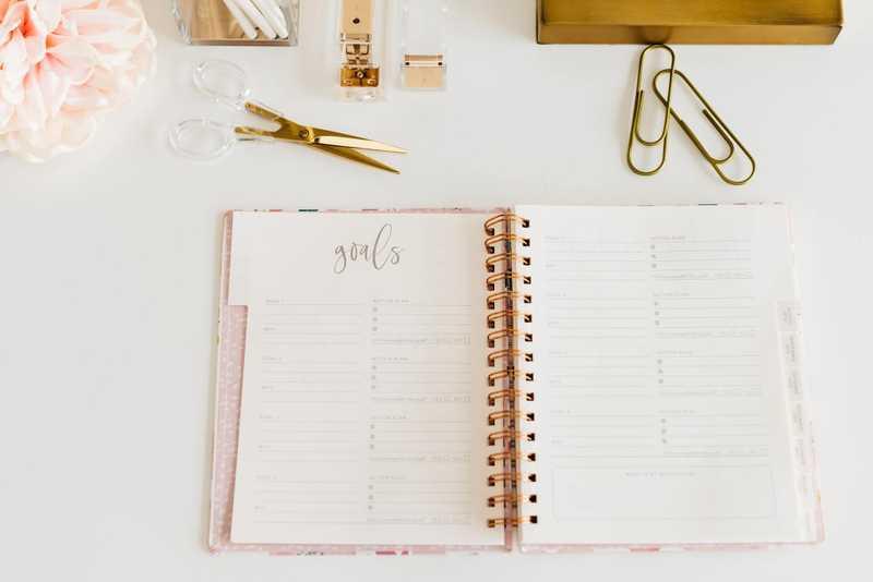 Planning van een bruiloft gemaakt door een weddingplanner