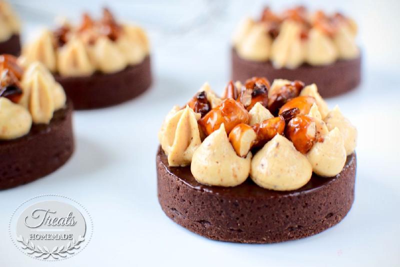 Praliné Chocolate Tart
