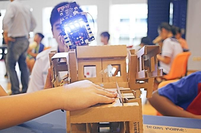 cluster-friendship-hackathon-2018-at-montfort-junior-school