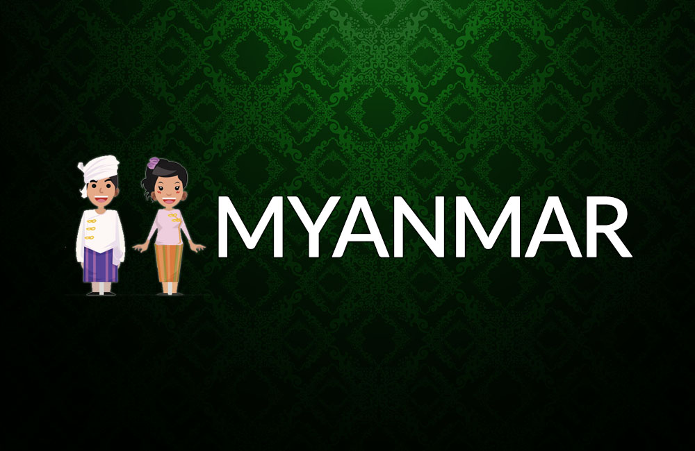 Customs in Myanmar banner