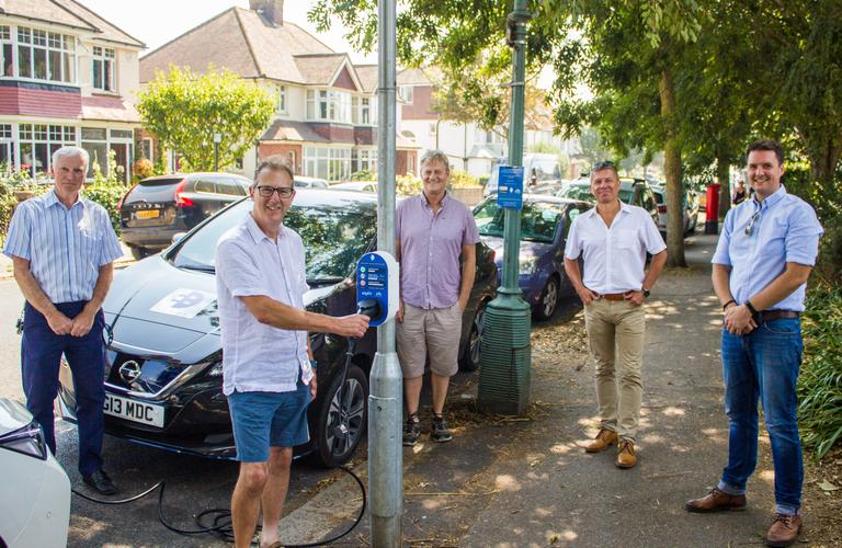 BHCC and Electric Blue at chargepoint