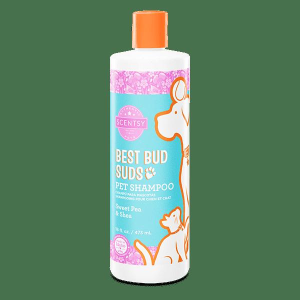 Sweet Pea & Shea Best Bud Suds Pet Shampoo