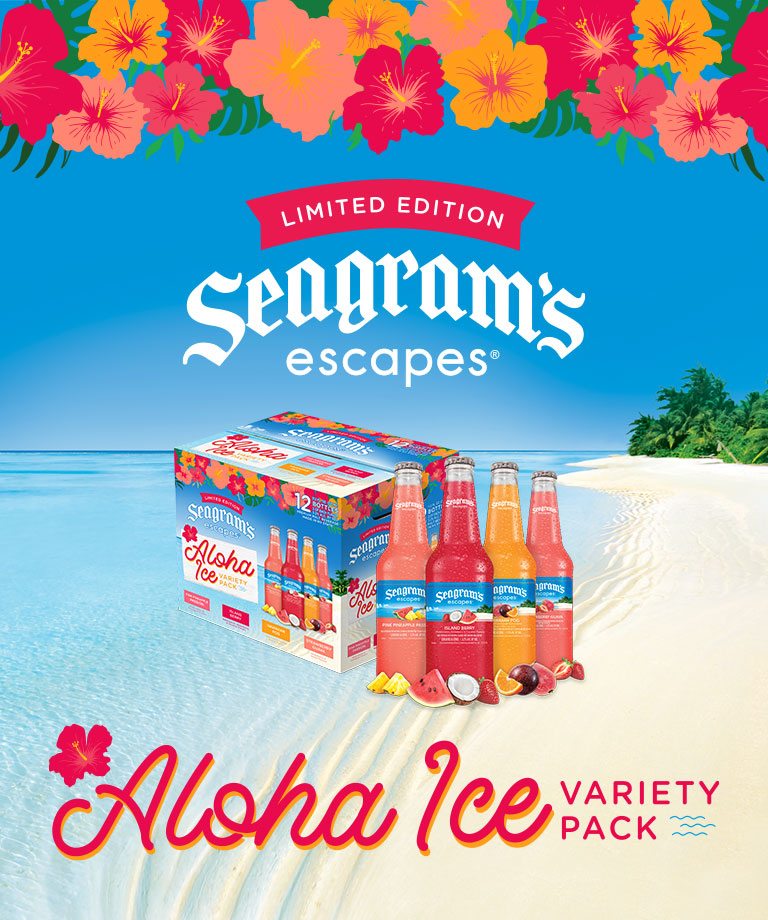 Seagram's Escapes Ahola Ice is back!