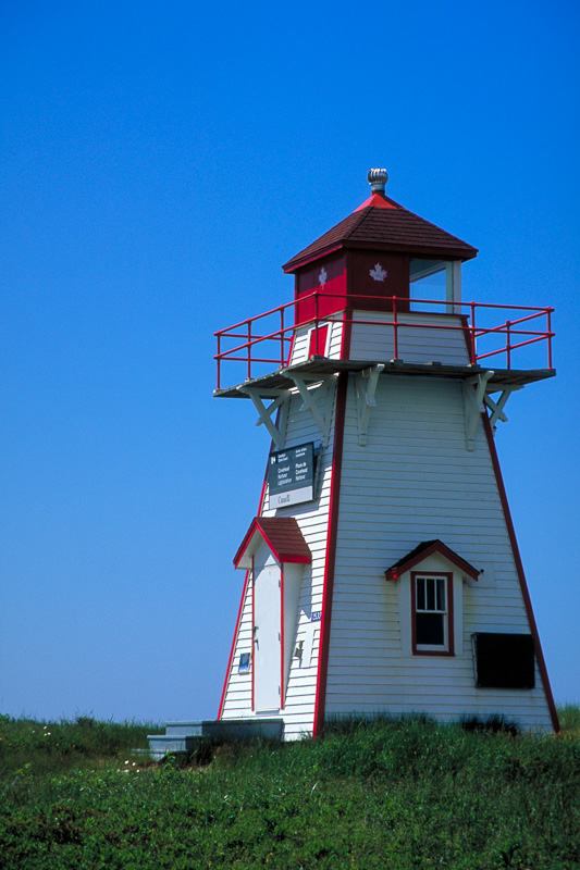 Covehead Harbour Lighthouse, Covehead Harbour, Prince Edward Island, Canada