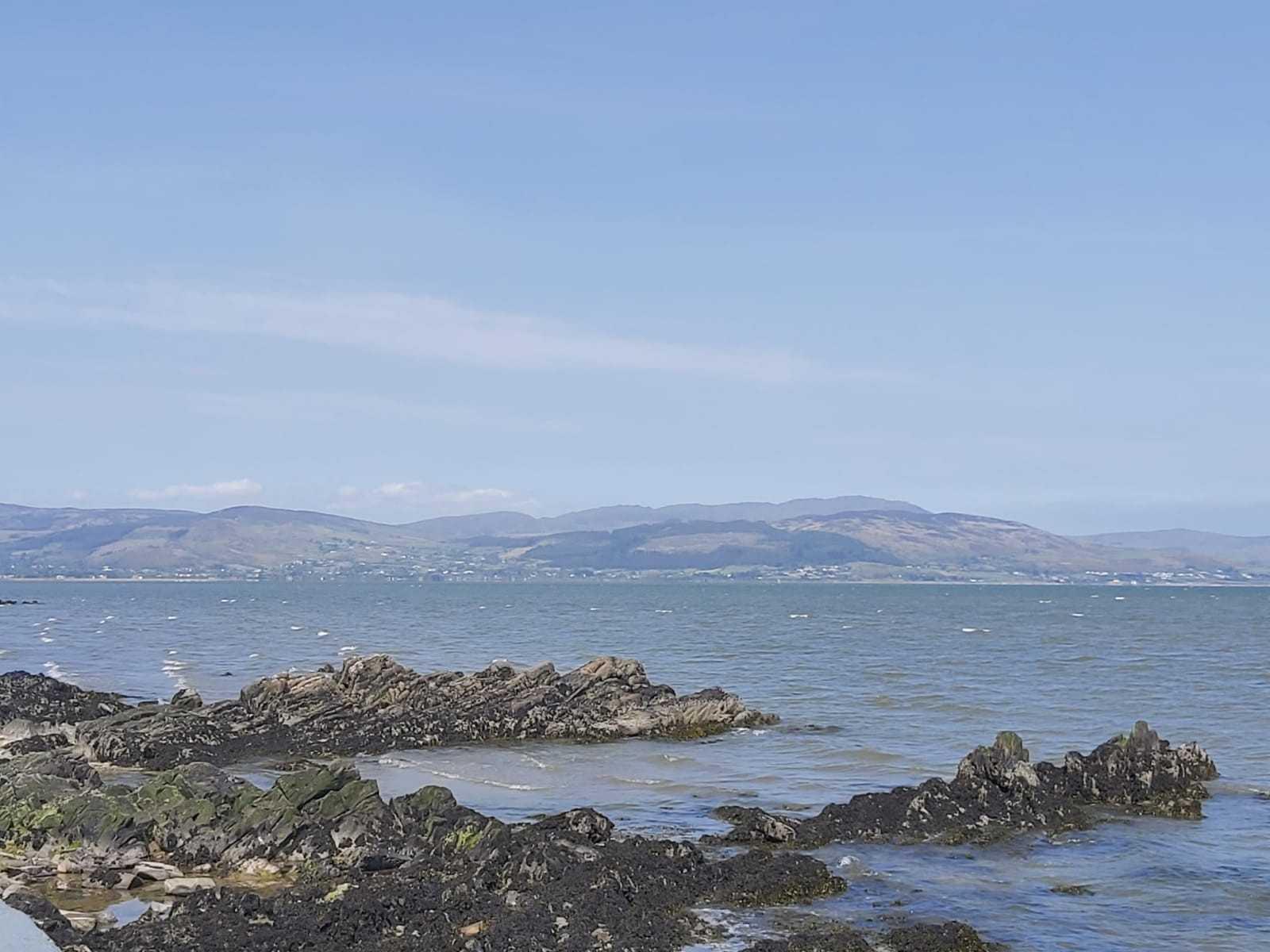 Irish Sea off Blackrock Coast