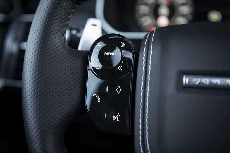 Land Rover Range Rover Sport SVR 5.0 V8 SC Meridian Reference Audio + Head Up + 360 Camera + Gekoelde/Verwarmde voorstoelen + Verwarmde  Achterbank + Carbon Motorkap Met Luchthappers + Ambianceverlichting afbeelding 21