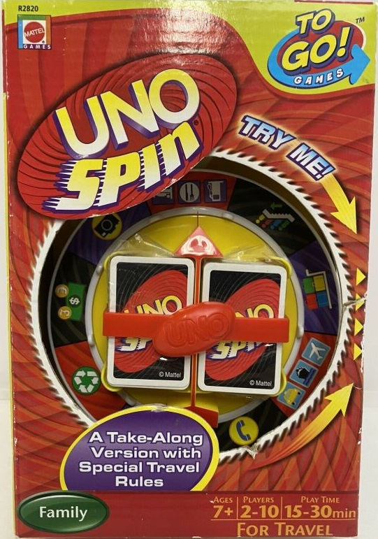 Uno Spin: Travel