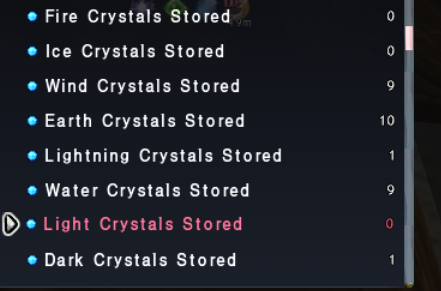 Crystal Currency Log
